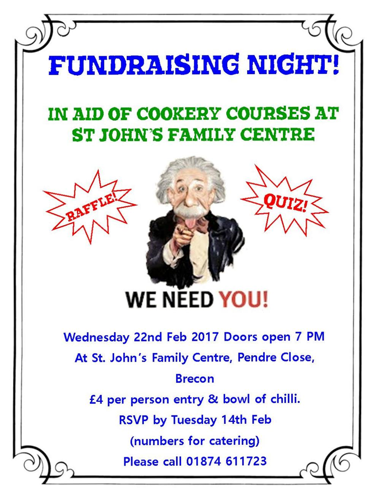 Come to our fabulous fundraising quiz fyi brecon for What will my future family be like quiz