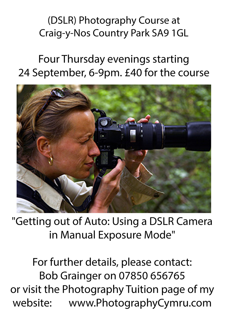 Camera Dslr Camera Course four week dslr photography course at craig y nos country park thursday evenings starting 24 september