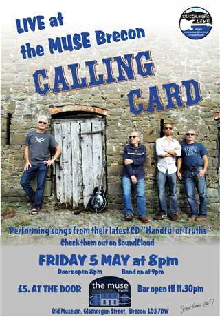 Live music @ The Muse with Calling Card: