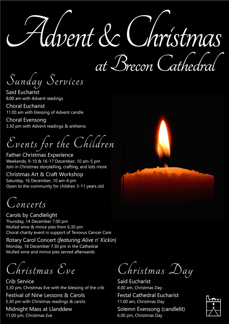 Christmas Readings.Advent Christmas At Brecon Cathedral