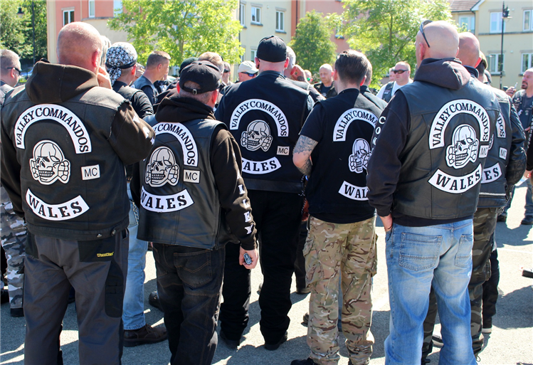 Ride of Respect starts in Brecon: photo special
