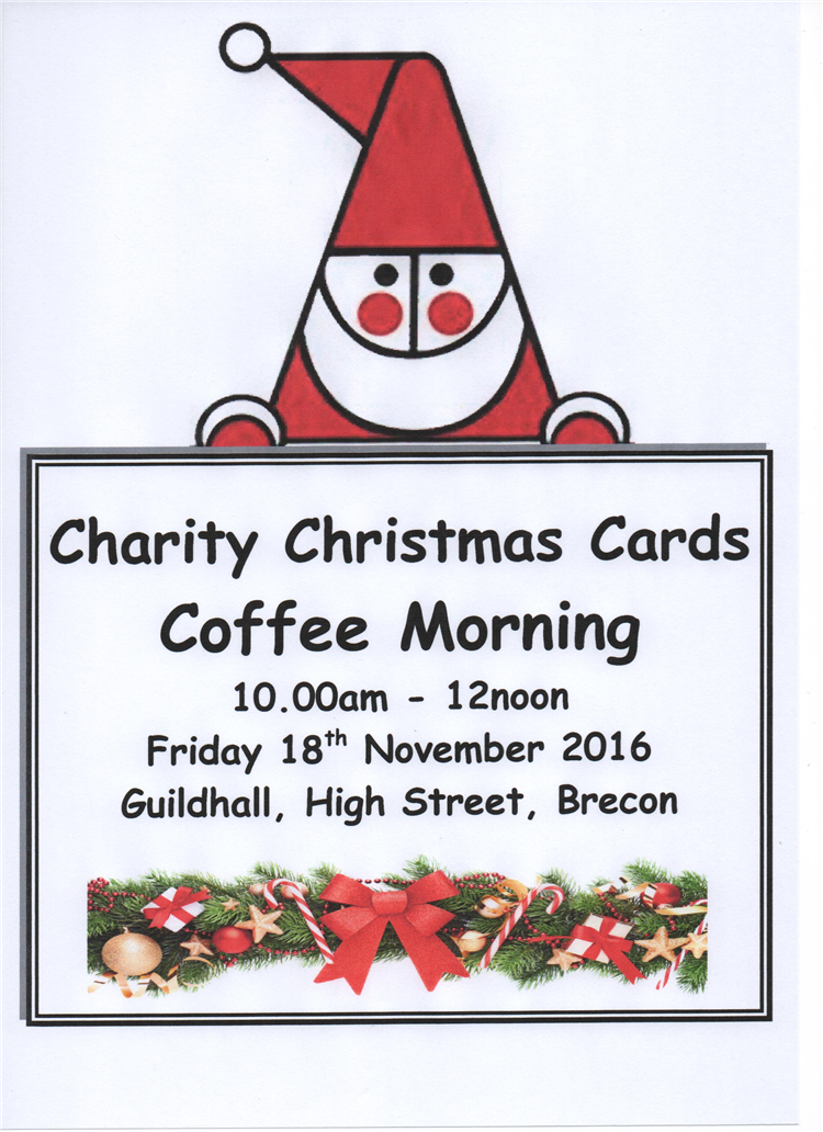 Coffee Christmas Cards.Friday 18 November 2016 Charity Christmas Card Coffee