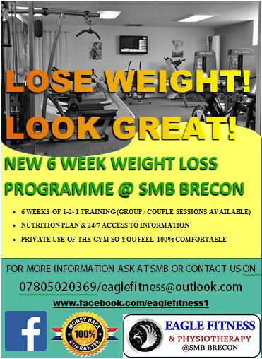 New Weight Loss Programme Personal Training And Physiotherapy